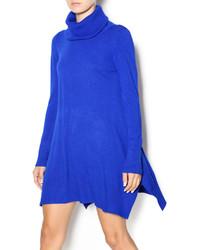 Blue Sweater Dress