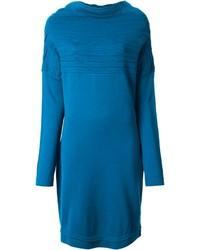 Maison Margiela Ruched Sweater Dress