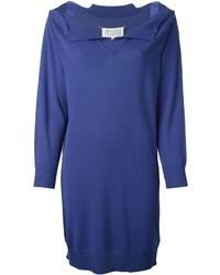 Maison Margiela Off Shoulder Sweater Dress