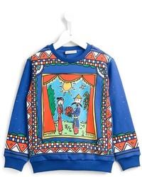 Dolce Gabbana Kids Cinesi Teatro Print Sweatshirt