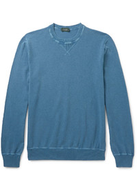 Incotex Knitted Cotton Sweater