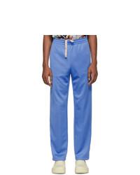 Acne Studios Blue Drawstring Lounge Pants