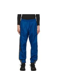 Vetements Blue Logo Tape Track Pants