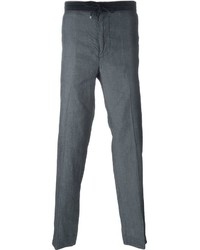 Emporio Armani Loose Fit Drawstring Trousers