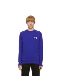 MAISON KITSUNÉ Blue Fox Head Sweatshirt