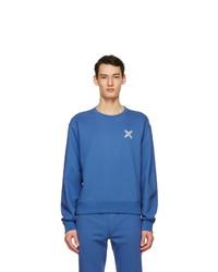 Kenzo Blue Sport Little X Sweatshirt