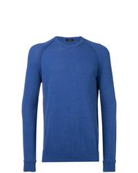 Roberto Collina Ribbed Trim Sweatshirt