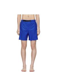 Prada Blue Nylon Swim Shorts