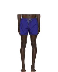 Ps By Paul Smith Blue Zebra Swim Shorts