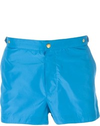 Eleventy Front Button Swim Trunks
