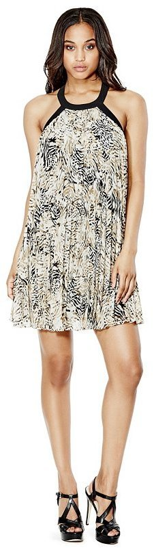 1dc4ab22d789 GUESS Fiona Sleeveless Pleated Dress