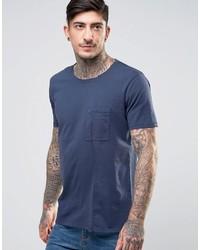 Nudie Jeans Co Luka Skewed Pocket T Shirt