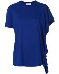 MSGM Single Frilled Sleeve T Shirt