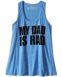 The Original Retro Brand Kids My Dad Is Rad Racerback Tank Top