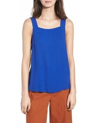 Madewell Apron Bow Back Tank