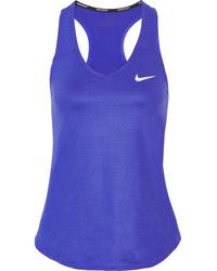 Nike Court Pure Dri Fit Stretch Tank Royal Blue