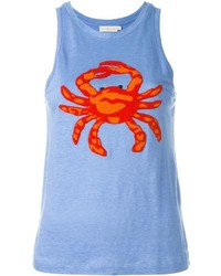 Tory Burch Crab Tank Top