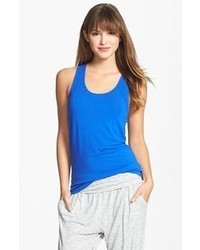 DKNY Citi Essentials Racerback Tank Electric Blue Small