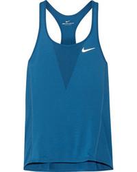 Nike Zonal Cooling Relay Dri Fit Stretch Mesh Tank Cobalt Blue