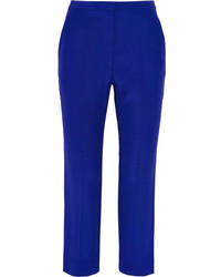 Blue Tapered Pants