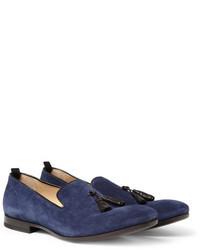 Blue tassel loafers original 2568507