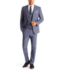 Hugo Boss Boss Hendryfly Trim Fit Three Piece Suit Where