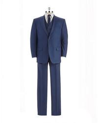 Sean John Modern Fit Three Piece Suit