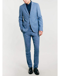 Topman Blue Skinny Suit Jacket | Where to buy & how to wear