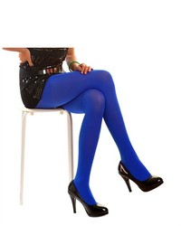 HDE Solid Color Premium Microfiber Tights