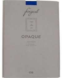 Fogal Semi Opaque Tights Blue Size Small