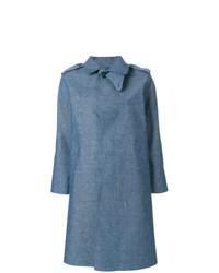 Chambray trench coat medium 7942416