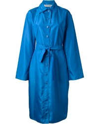 Jean louis scherrer vintage long belted raincoat medium 161399