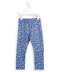 Simonetta Swirl Print Trousers