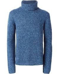 BLK DNM Roll Neck Sweater