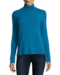 Cashmere collection modern cashmere turtleneck medium 3750533