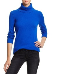 Aqua Cashmere Turtleneck Cashmere Sweater 100%