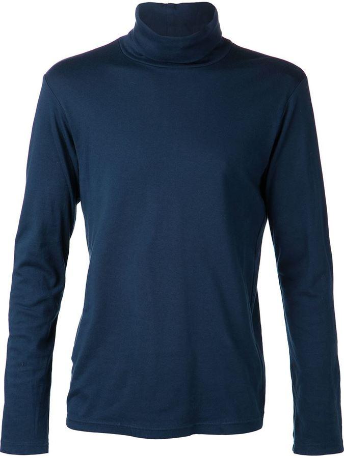 Sweater Blue Turtleneck Neck Turtle Attachment By ZBgq5
