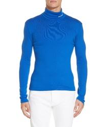 Calvin Klein 205W39nyc Wool Jersey Turtleneck