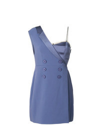 Blue Tuxedo Dress
