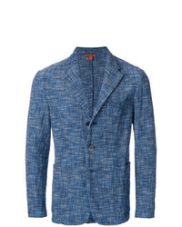 Blue Tweed Blazer