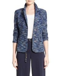 St. John Collection Sanbi Space Dye Tweed Jacket