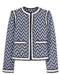 Tory Burch Justine Tweed Jacket