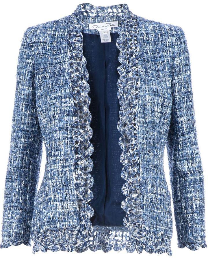Oscar de la Renta Boucl Tweed Jacket   Where to buy & how to wear