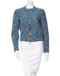 Diane von Furstenberg Tweed Buckley Jacket W Tags