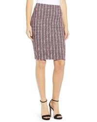 Bailey 44 Laissez Faire Boucle Pencil Skirt