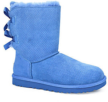 af04e2673cc $205, UGG Australia Australia Bailey Bow Exotic Scales Boots