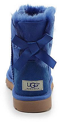 95402738943 $105, UGG Mini Bailey Bow Booties