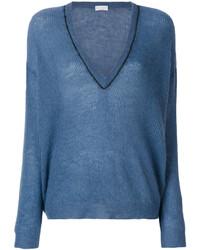 Deep v neck sweater medium 4980160