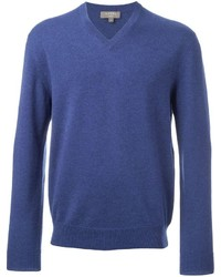 N.Peal The Burlington V Neck Jumper
