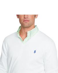 ... Polo Ralph Lauren Pima Cotton V Neck Sweater